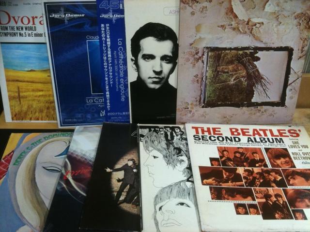 買取のレコード